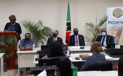 2021 Edition of Court-Connected Mediation Training gets under Way in St. Kitts and Nevis